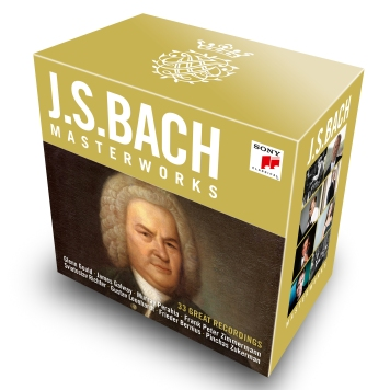 J. S. Bach_Masterworks_33 Great Recordings_(c) Sony Clasical